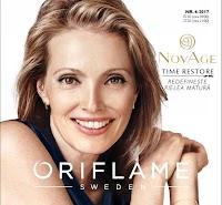 Catalog Oriflame cu produse pentru îngrijire și cosmetice