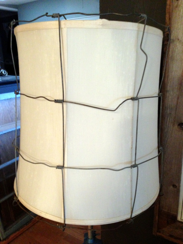 blue roof cabin: Industrial Lamp Shade