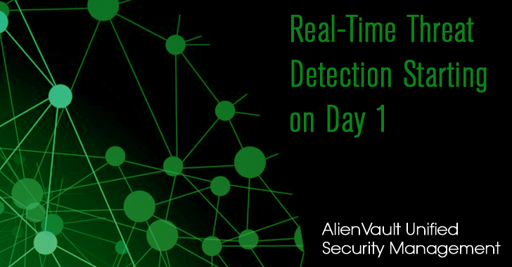 AlienVault Unified Security Management: Real-Time Threat Detection Starting on Day 1