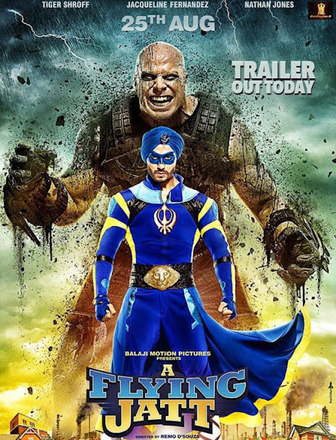 A Flying Jatt , A Flying Jatt Poster, A Flying Jatt Tiger Shroff, A Flying Jatt Movie