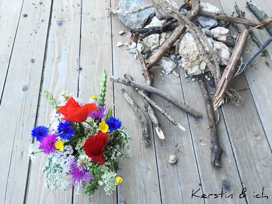 Blumen Stöcke