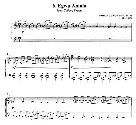 Joshua Uzoigwe, a Nigerian Composer-Ethnomusicologist  ~ Phamox Music