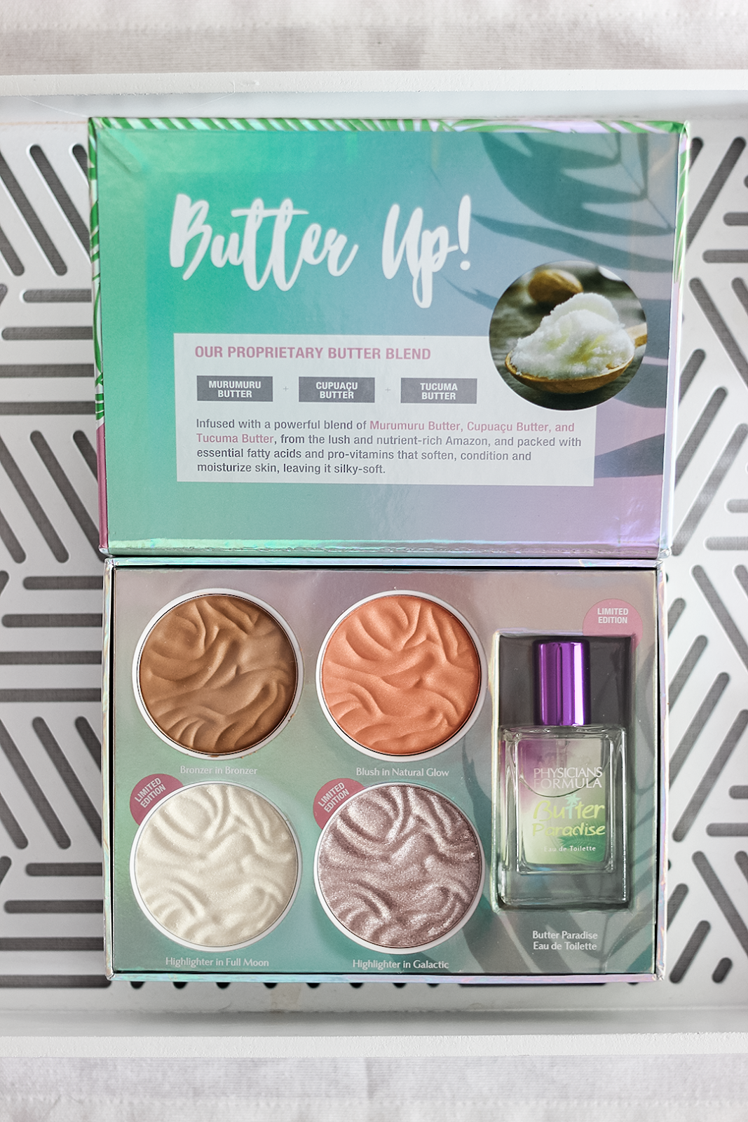 PHYSICIANS FORMULA BUTTER COLLECTION PALETTE LIMITED EDITION SWATCHES REVIEW