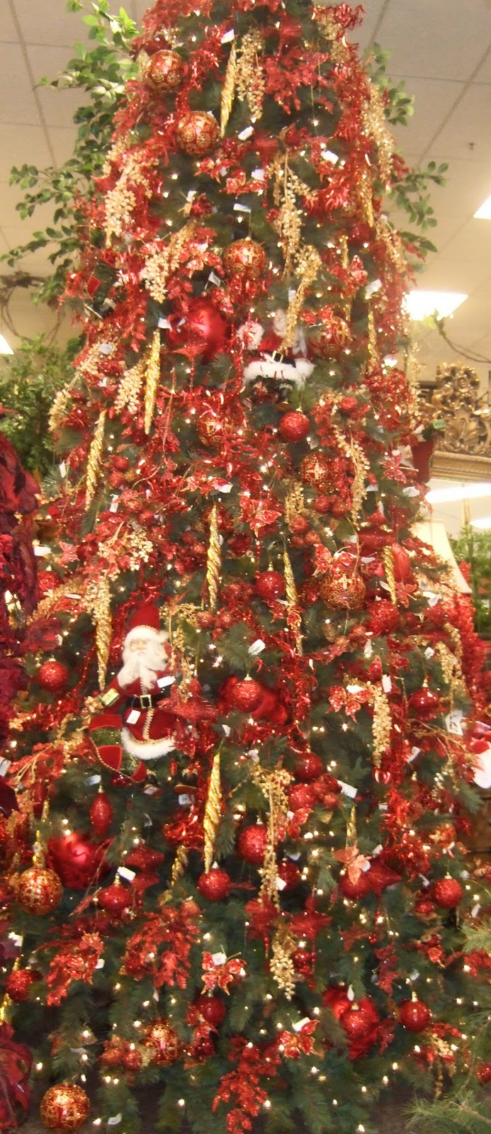 Ana Silk Flowers: Ideas!!!... Christmas Tree Decorating ...