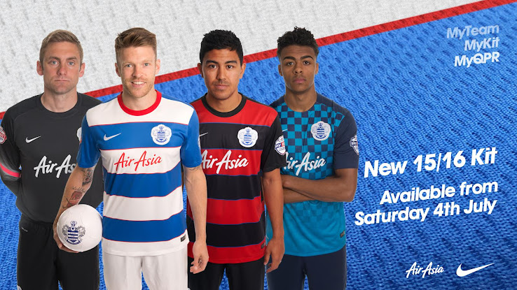 8ce6891a9 Queens Park Rangers 15-16 Kits Released - Footy Headlines
