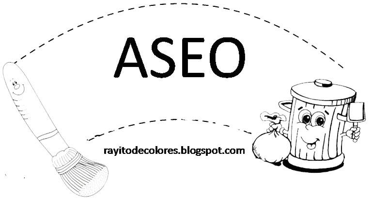 Cartel de Aseo