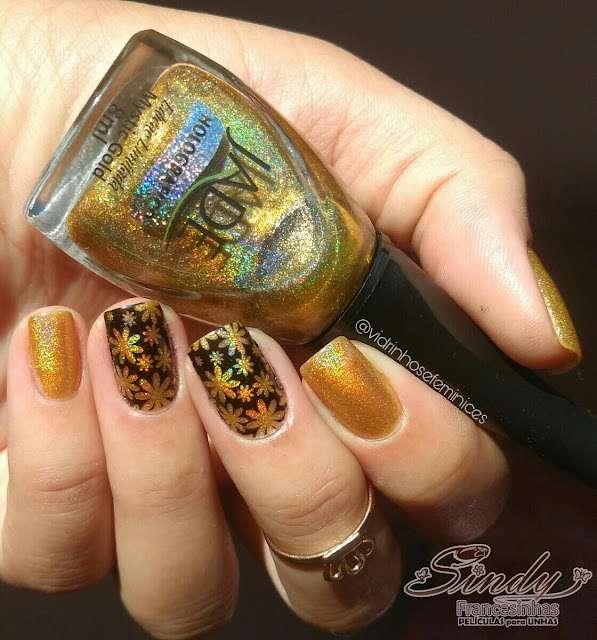 Esmalte Mystic Gold - Jade + Sindy Francesinhas