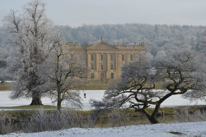 Chatsworth en invierno