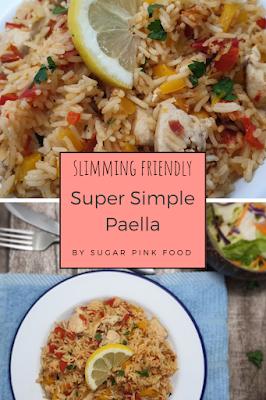 Slimmming world friendly paella fakeaway recipe