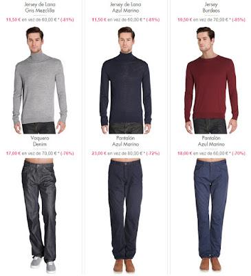 jerseis pantalones hombre