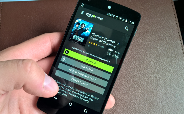 how to download amazon prime movies to phone