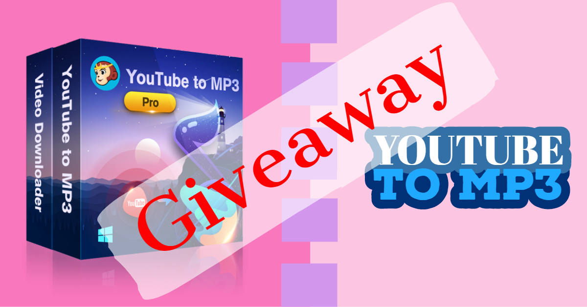 Giveaway: DVDFab YouTube to MP3