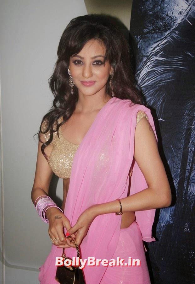 Vedita Pratap Singh in pink saree, Vedita Pratap Singh in Saree - Hot HD Images