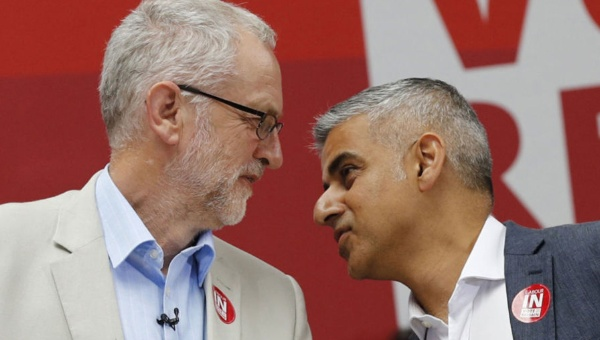 Alcalde de Londres pide remover a Corbyn como líder laborista