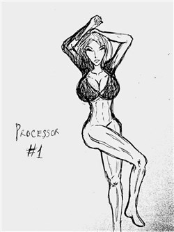 Processor – The godamn superhero – Truyện tranh