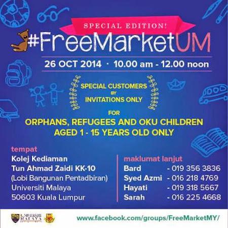 FreeMarket Sepanjang Oktober 2014 : FreemarketUM