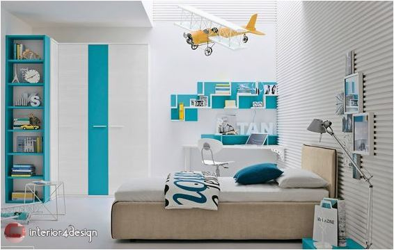 Colorful Teenagers Bedrooms 8