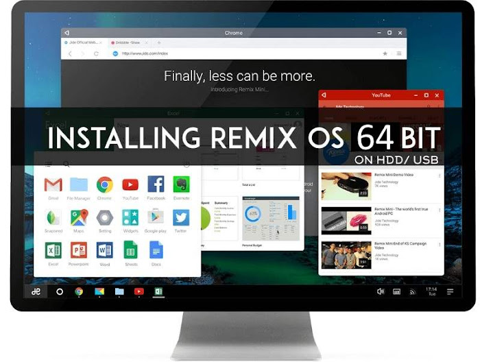 Dual Boot Remix OS
