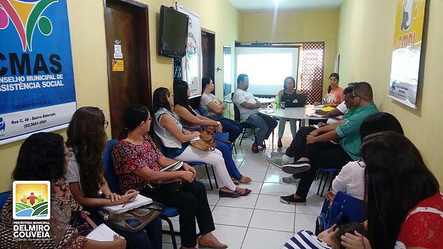 Reunião do Conselho Municipal de Assistência Social reúne representantes de diversos órgãos do município de Delmiro Gouveia
