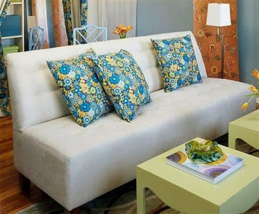 Armless sectional sofas small spaces