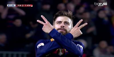 Copa Del Rey : Barcelona 3 vs 1 Athletic Bilbao 27-01-2016