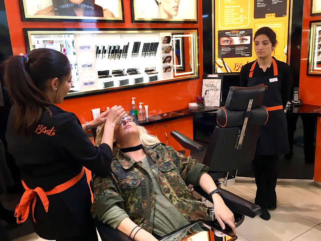benito brow bar eyebrow threading debenhams birmingham experience
