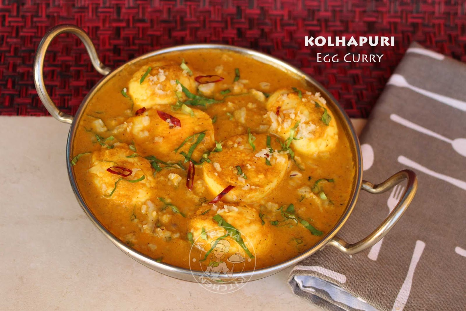 Simple egg recipes kolhapuri egg curry ayesha farah ayeshas kitchen recipes egg recipes curryworld tasty egg curry simple easy indian kerala style forumfinder Images