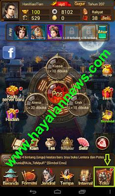 Cara top up emas gratis game dinasti naga dengan mudah tanpa cheat