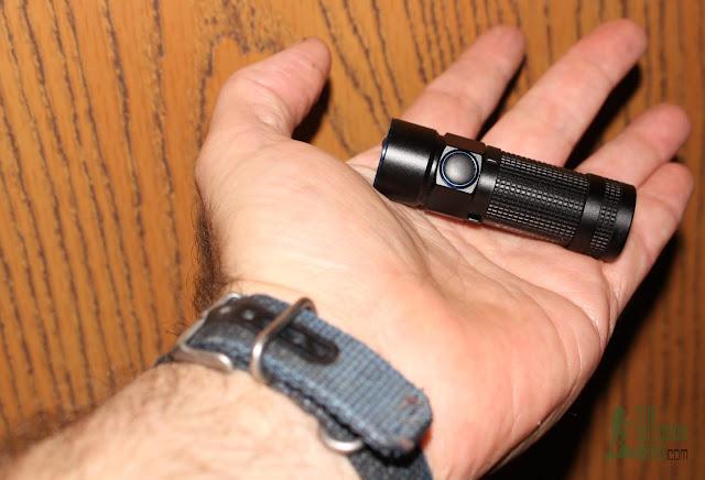 Olight S1R Baton - In Hand