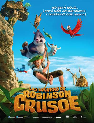 Ver Las locuras de Robinson Crusoe (2016) Online