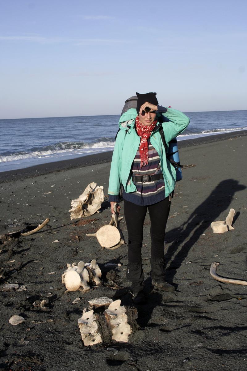 скелет кита камчатка