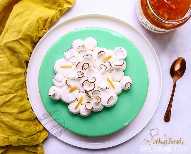 recette tarte noix de coco citron