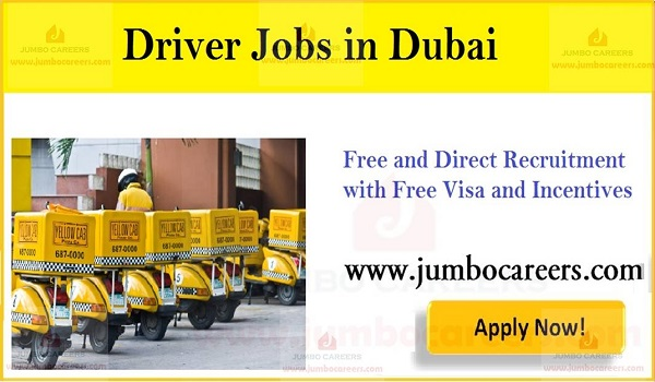 Driver job Walk In Interview in Dubai Today, Current Dubai driver jobs,