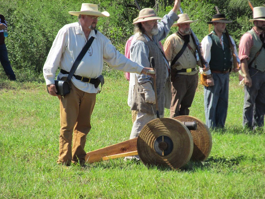 texas revolution reenactments