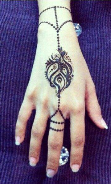 Mild Indian Mehndi Designs For Hands