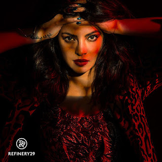Priyanka Chopra Strange Stunning Pics from Refinery 29