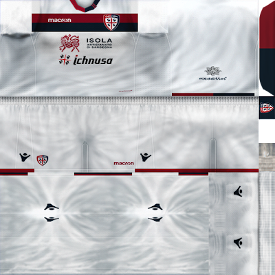 PES 6 Kits FC Cagliari Season 2018/2019 by Ghoul
