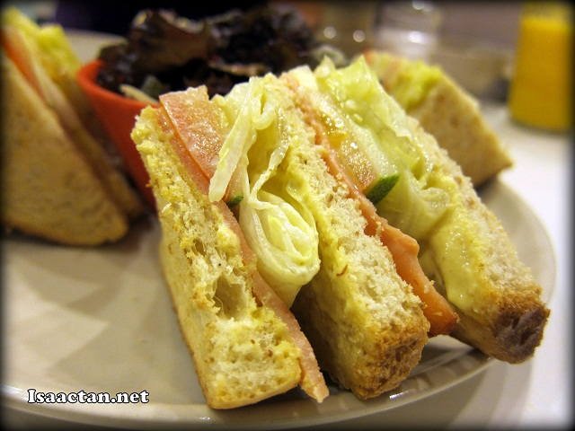 Turkey Club Sandwich - RM8.90