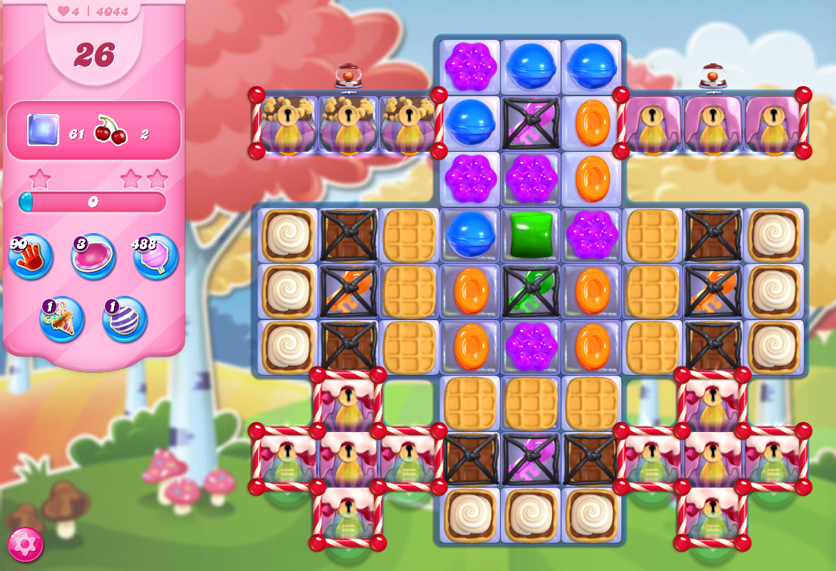 Candy Crush Saga level 4044