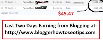 payment through Paypal in India, earning from blogging