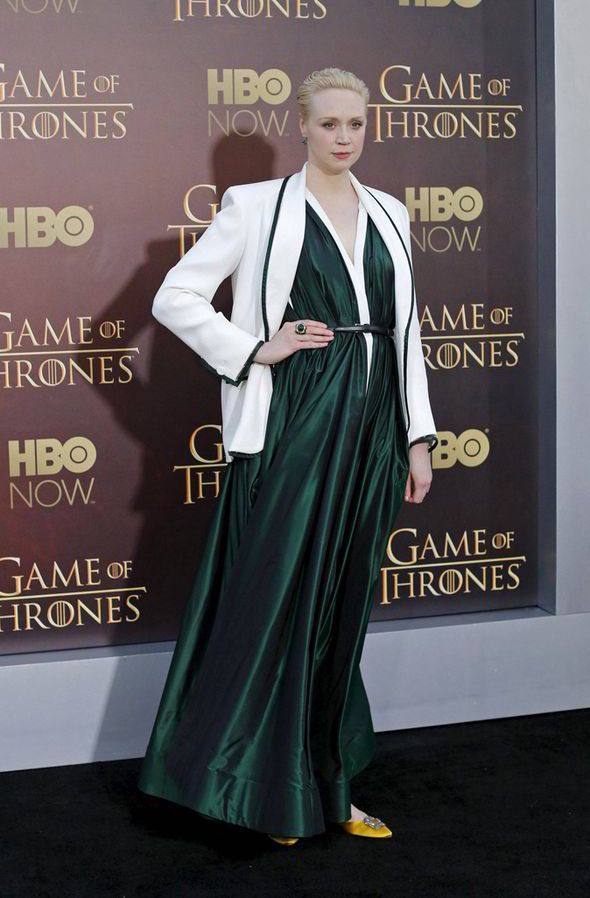 Gwendoline Christie at the 'Game of Thrones' Season 5 premiere in San Francisco