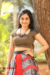 Telugu Actress Priyanka Pallavi Stills at Nenostha Release Press Meet  0005.JPG