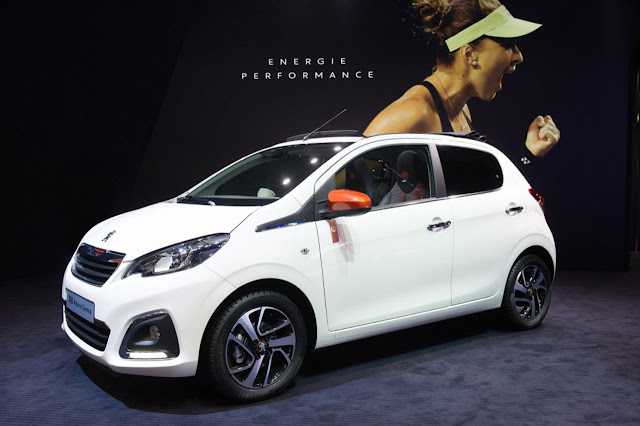 PEUGEOT 108 Roland Garros Special Edition