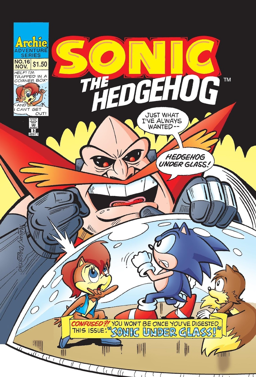 hedgehogs cant swim sonic the hedgehog issue 16