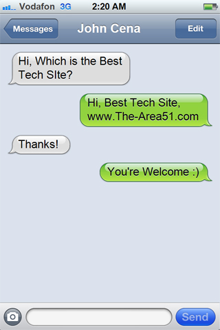 how to create a fake iphone text conversation the area51 com
