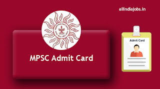 MPSC Sales Inspector Admit Card
