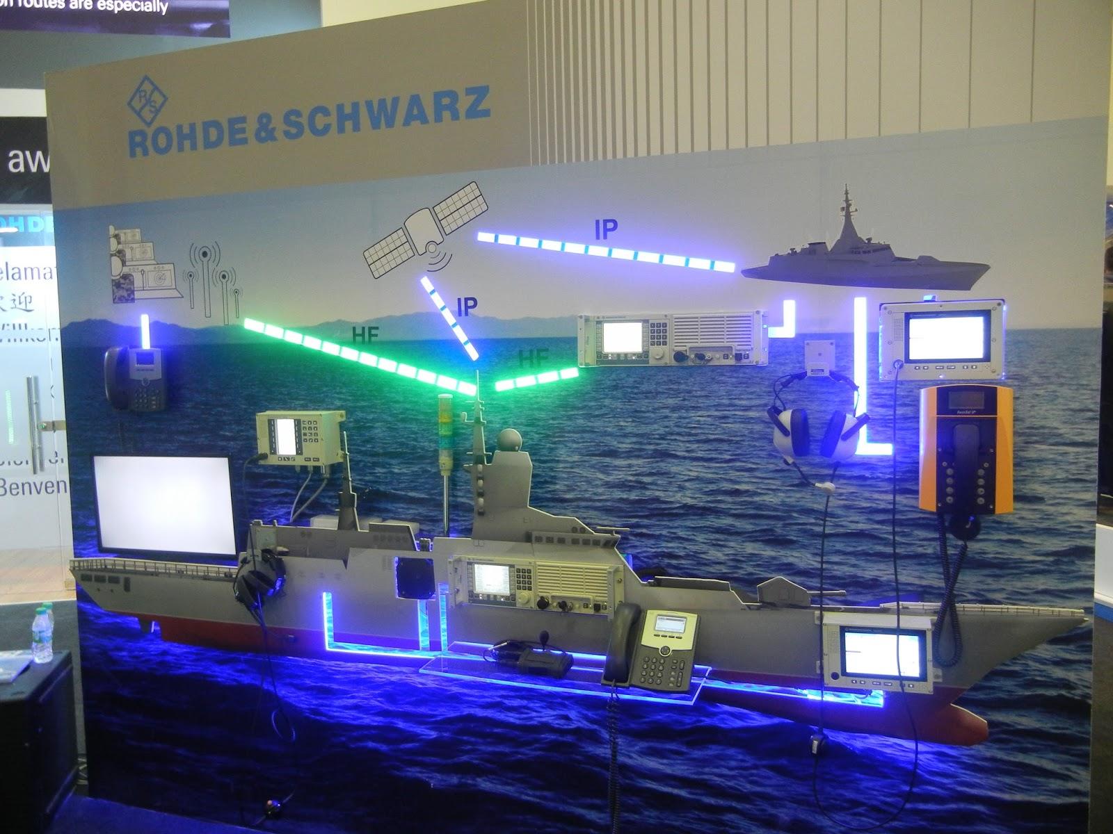 نظام إتصالات بحرية متطور - يتميز بسهولة الحركة على متن السفينة من Rohde & Schwarz DSCN1306