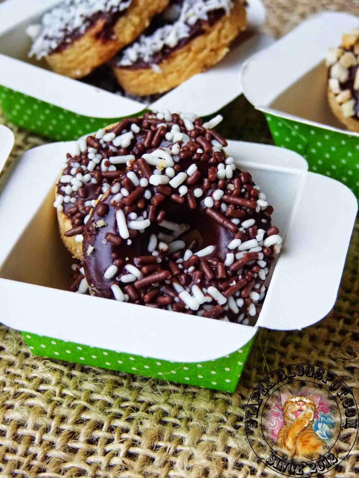 syapex kitchen: Biskut Donut
