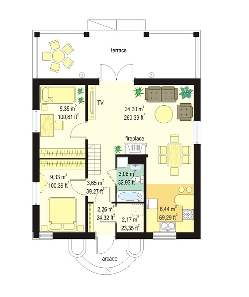 Free Small Home Blueprints And Floor Plans Just For You