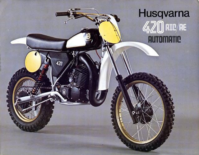 1982 Husqvarna 420 Automatic
